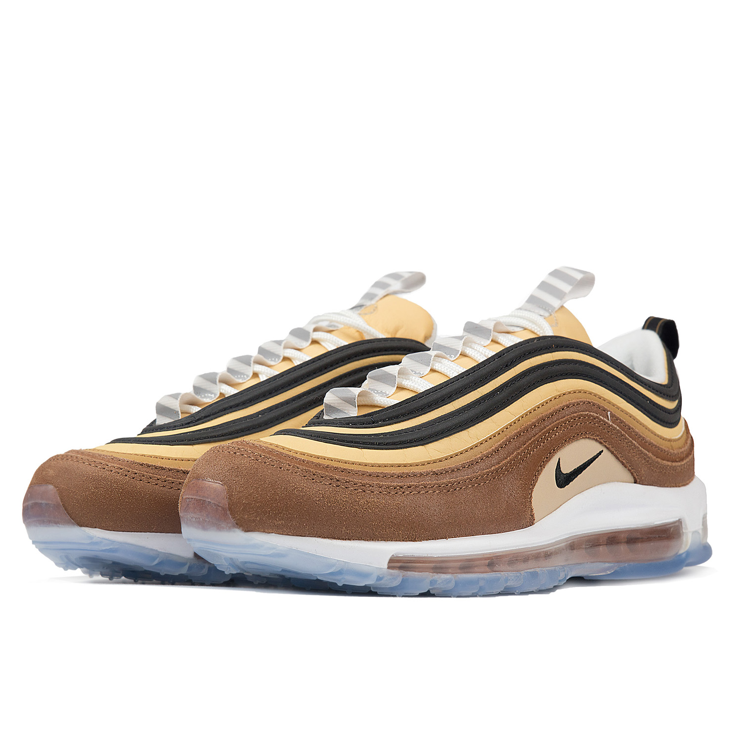 MENS NIKE AIR Max 97 921826 201 Ale BrownBlack NEW Size 10