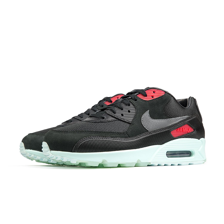 Nike Air Max 90 Premium Black Cool Grey Teal Tint
